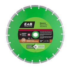 "12"" Segmented Green Diamond Blade - Exchangeable"