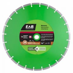 "14"" Segmented Green Diamond Blade - Exchangeable"