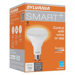 LED Smart BR30 Soft White Medium Base Bulb-1/Pack