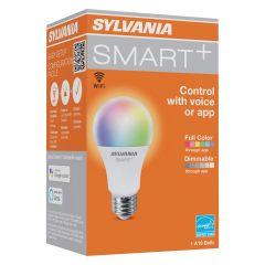 9 Watt Full Color Dimmable LED Smart A19 Bulb-1/Pack