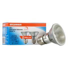 39 Watt 30° Halogen PAR20  Medium Base Flood Light Bulb-2/Pa