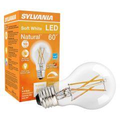 8 Watt Dimmable Medium Base LED A19 Bulb-1/Pack