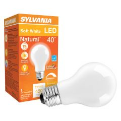 5.5 Watt Dimmable Medium Base LED A19 Bulb-1/Pack