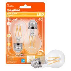 5.5 Watt Dimmable Medium Base LED A15 Bulb-2/Pack