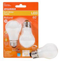 8 Watt Dimmable Medium Base LED A15 Bulb-2/Pack
