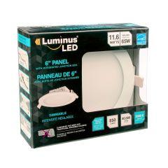 """Luminus LED 6"""" Panel 5000K"""