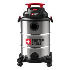 Porter Cable 6 Gallon Poly Wet/Dry Vacuum