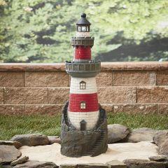 """39"""" Lighthouse Fountain"""