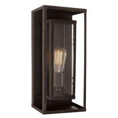 Montague 1-Light Outdoor Wall Lantern Sconce-Bronze