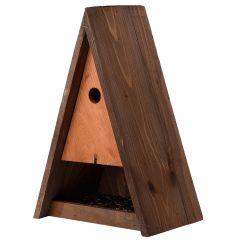 Triangle Bird House and Feeder