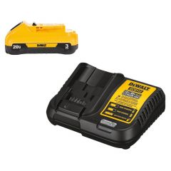 20V Max Li-Ion Compact Battery With Charger