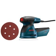 "5"" Random Orbit Sander With 25 Bonus Sanding Discs"