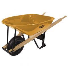 5 Cu-ft Heavy-Duty Wheelbarrow