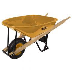 5 Cu-ft Heavy-Duty Flat Free Wheelbarrow