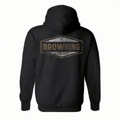 Browning Mens Billboard Sweatshirt Black