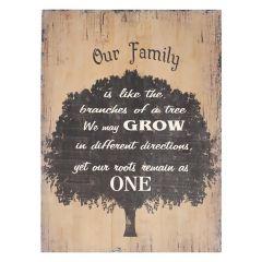 Tree Family Sign