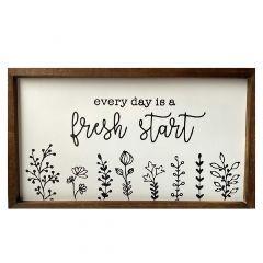 Fresh Start Wall Décor