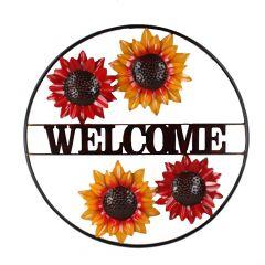 Sunflower Circle Wall Art
