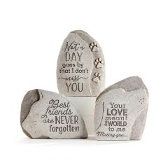 Pet Upright Stone