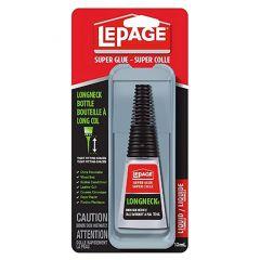 LePage Super Glue Long Neck-10mL