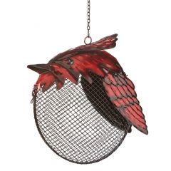 Cardinal Hanging Bird Feeder