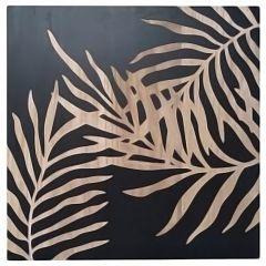 Wood Foliage Wall Art