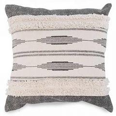 Grey & Natural Aztex Cushion