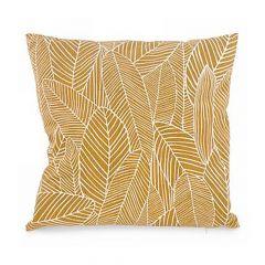 Mustard Yellow Foliage Cushion
