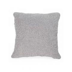 Light Grey Weave Knit Cushion