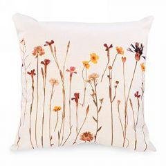Autumn Floral Print Cushion