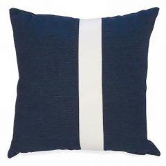 Blue Colorblock Cushion