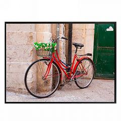 Red Bicycle Wall Art