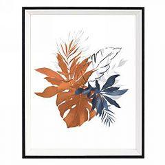 Blue And Copper Foliage