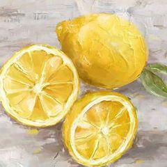 Lemons Canvas Art
