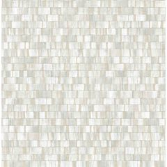 Dobby Light Grey Geometric Wallpaper