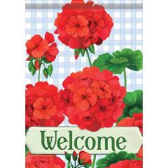 Sweet Home Welcome Garden Durasoft Large Flag