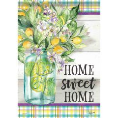 Home Sweet Home Lemons Garden Durasoft Large Flag