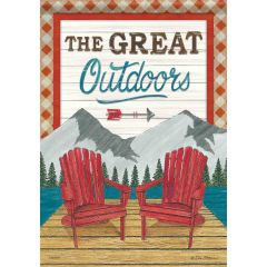 The Great Outdoors Garden Durasoft Large Flag