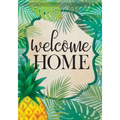 Welcome Home Garden Durasoft Flag