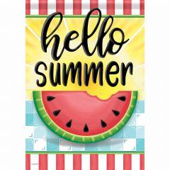 Hello Sweet Summer Garden Durasoft Flag