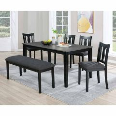 Addison 6 Piece Dining Set With Bench