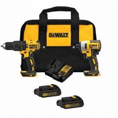 Dewalt 20V Max 2-Tool Brushless Hammer Drill/Impactcombo Kit