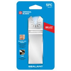 One Fit Straight Sealant Cutter-5/Pack