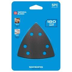 Multi-Tool Triangle Sandpaper 180 Coarse Grit 5 Piece