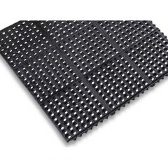 36'' x 36'' x 1/2'' Interlock Ring Mat