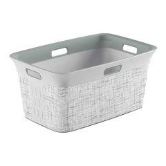 Laundry Basket Tweed 45L