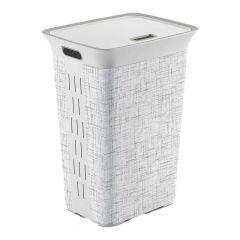 Laundry Hamper Tweed 60L