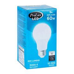 LED 9 Watt A19 800L 5000K Bulb