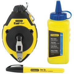 100' Fat Max Chalk Line With Blue Chalk