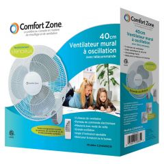 """16"""" Wall Fan with Remote"""